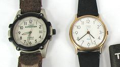 Bargain Barn Jewelry lot of Two Timex Watches
