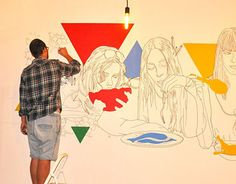 """Check out new work on my @Behance portfolio: """"MURAL SMAK""""…"""