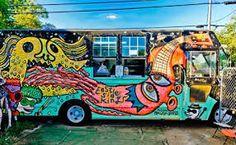 outside decor food trailer - Google Search