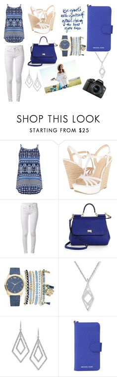 """""""Be gentle with yourself, you're doing the best you can"""" by forevverfashion12 ❤ liked on Polyvore featuring Dorothy Perkins, Jessica Simpson, rag & bone, Dolce&Gabbana, Mixit, ABS by Allen Schwartz, MICHAEL Michael Kors and Eos"""