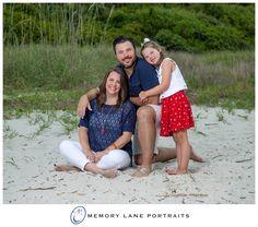 Beach Portraits Family Of Three Hilton Head