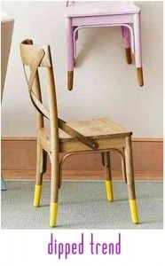 dip the dinning room chairs!