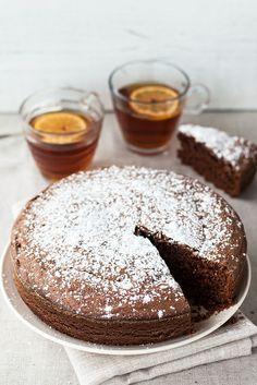 Dolce al cioccolato, olio d'oliva e mandarino - Chocolate cake by Juls1981, via Flickr