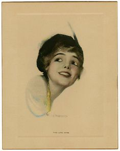 #art Antique 1912 Early Rolf Armstrong Fine Art Print Pre Pin-Up The Live Wire Rare please retweet