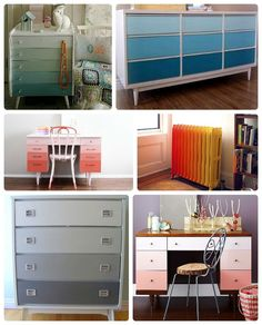 How to do ombre furniture