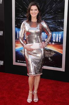 "Sela Ward at the premiere of ""Independence Day: Resurgence"" on June 20, 2016..."
