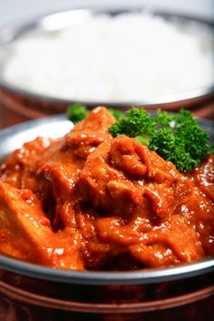 Slow Cooker - Indian Chicken Curry with Garlic