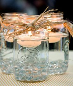 How to Use Mason Jars at Your Wedding