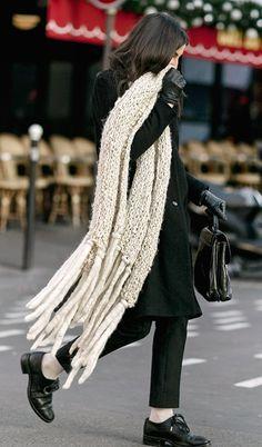 Wrap Around / Fashion, Winter, Scarf / Garance Doré
