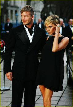 David and Victoria Beckham one of THE MOST GORGEOUS COUPLES…WAY BETTER THAN SKEAZY ANGIE THE HOMEWRECKER 'N BRAD the PITT