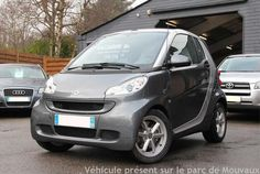 SMART FORTWO II (2) CABRIO PEARL GREY 71CH MHD SOFTOUCH 2012