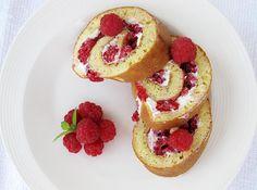 Rulada cu branza si zmeura Baby Food Recipes, Sugar Free, French Toast, Cheesecake, Cooking, Breakfast, Healthy, Desserts, Tarts