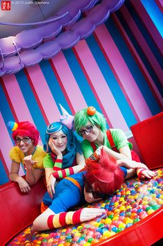 Tricksters: A Candy Retreat by theDreamerWorld, via Flickr
