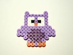 Búho hama beads | Colección Animales | Chicle Sin Azúcar