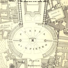 1926 Vatican City Plan St. Peters Basilica by CarambasVintage, $16.00