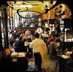 Balthazar, NYC ... a favorite place for people watching