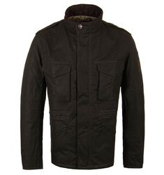 Barbour International Brown Steve Mcqueen Field Wax Jacket