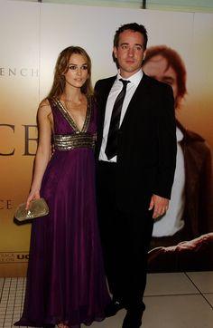 Keira Knightley and Matthew Macfadyen aka Elizabeth and Mr. Darcy