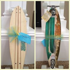 My new long board from the Easter bunny!:)