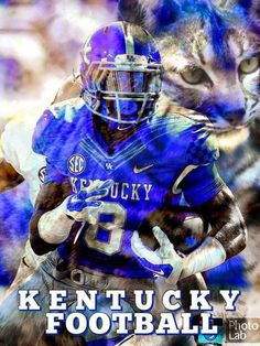 Tips And Tricks For Playing Better Football. Worldwide, football is a beloved pastime and sport for millions of all ages. University Of Kentucky Football, Uk Football, Football Photos, Kentucky Wildcats, College Football, Football Helmets, Wildcats Basketball, Go Big Blue, Sports