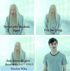 Dumbledore has spoken #DoctorWho
