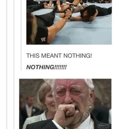 WWE & Doctor Who.sorry my nerd is showing Wwe Funny, Funny Memes, Hilarious, Watch Wrestling, Heart Meme, Lucha Underground, Jeff Hardy, Wwe Tna, Seth Rollins