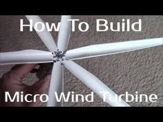 how to make a simple water turbine