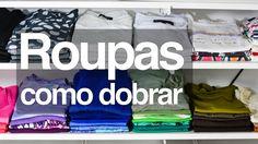 Veja três maneiras diferentes de dobrar as roupas, em prateleiras ou gavetas. Veja mais em http://www.tuorganizas.com/2015/03/tres-maneiras-de-dobrar-as-roup...