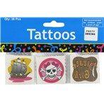 Girl Pink Pirate Tattoos
