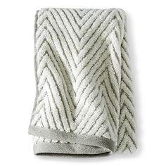 Threshold™ Chevron Textured Towel