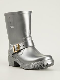 Love the Color Marc by Marc Jacobs Buckled Wellington Boots