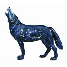 Constellation Wolf- The stars tattooed behind the paw print on my shoulder?