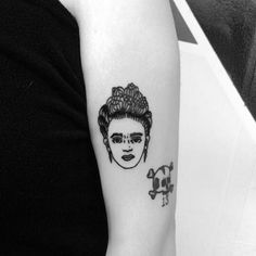 Czar Kandinsky, #Frida #Kahlo #tattoo