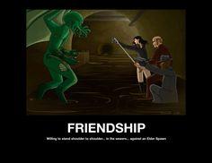 Friendship: Standing