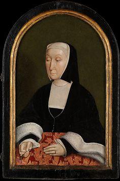 Countess of Egmond (Magdalena van Werdenburg, 1464–1538) North Netherlandish Painter, after 1516