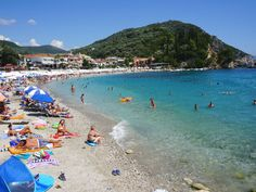 Parga beach - © Griekenland.net Net, Beaches, Greece, Dolores Park, Water, Travel, Life, Outdoor, Photos