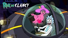 Rick and Morty X The Midnight Gospel Ricky And Morty, Rick And Morty Poster, Cartoon Art, Anime, Fan Art, Cartoons, Painting, Concept, Fictional Characters