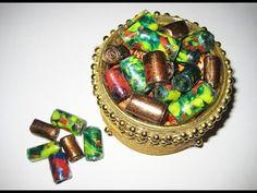 DIY Бусины из пластиковых бутылок своими руками. Мастер класс \ Beads from plastic bottles - YouTube