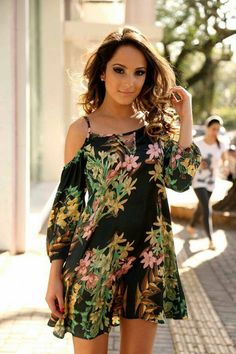 Cheiadefrescura cute casual outfits, chic outfits, spring outfits, photos o Simple Dresses, Nice Dresses, Casual Dresses, Short Dresses, Summer Dresses, Cute Casual Outfits, Chic Outfits, Spring Outfits, Fashion Outfits