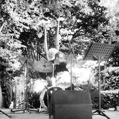 El Pep durant el concert als Jardins de Santa Clotilde. Foto: Josep Calataiud.