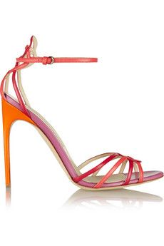 Brian Atwood Cassia leather sandals | THE OUTNET