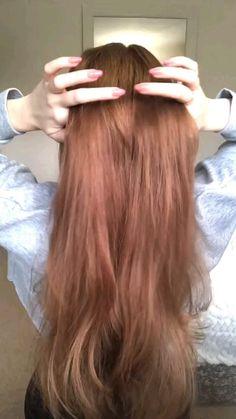 Hairdo For Long Hair, Easy Hairstyles For Long Hair, Cute Hairstyles, Front Hair Styles, Medium Hair Styles, Hair Style Vedio, Hair Tutorials For Medium Hair, Aesthetic Hair, Hair Videos