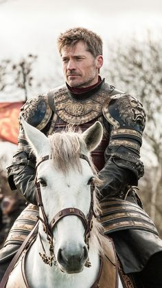 Nikolaj Coster-Waldau as Jaime Lannister in Game of Thrones. Jaime delvops from a cruel member of the kingsguard to become a great anti-hero