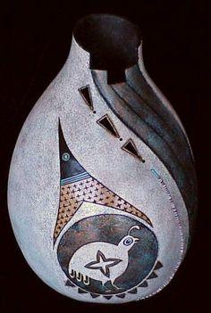 *Gourd Art by Bonnie Gibson