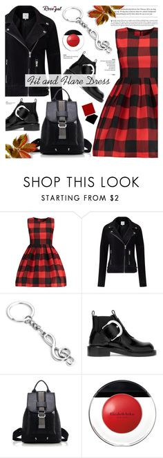 """""""Rosegal 25 - street style"""" by cly88 ❤ liked on Polyvore featuring Minimum, Maison Margiela and Elizabeth Arden"""