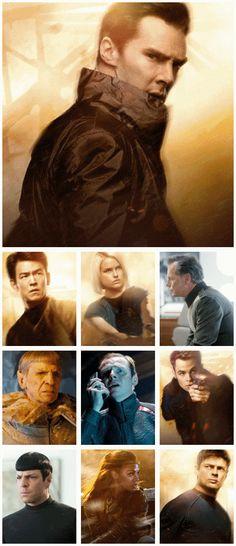 Star Trek Into Darkness Benedict makes for an AMAZING villain!