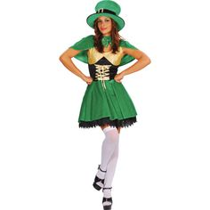 Top of the morning to ya, this Lucky Leprechaun fancy dress costume is perfect for anyone looking to celebrate this St Patrick's day in style. Leprechaun Costume, Irish Leprechaun, Irish Fancy Dress, Adult Fancy Dress, Halloween Kostüm, Halloween Costumes, St. Patrick's Day, Costumes, Saint Patrick
