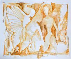 metamorphasis [Cubism-A496] - $500.00 painting by oilpaintingsartmaker.com