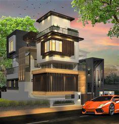 modern residence by A.J. Architects