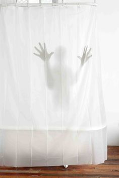 Shower curtain Scary